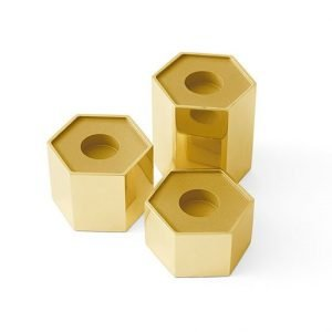 Candle Holders Hexagonal