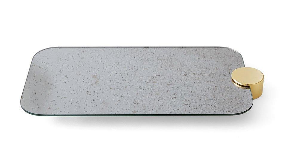Odette tray rectangular 2c arredamenti corbetta cimnaghi for 2c arredamenti