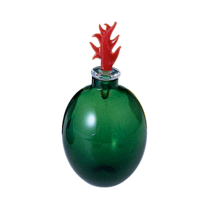 vaso monofiore verde mela